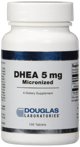 Douglas Labs - DHEA 5 mg Micronized - 100 Tablets