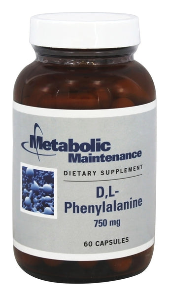 D,L-Phenylalanine 750 mg - 60 Capsules