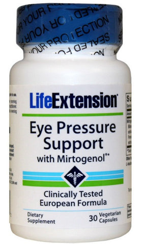 Eye Pressure Support with Mirtogenol - 30 Vegetarian Capsules