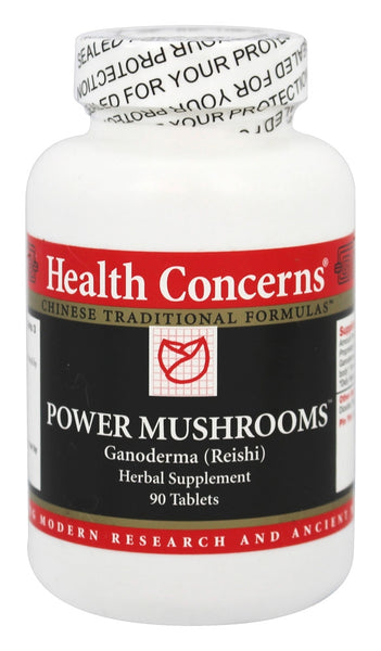 Power Mushrooms - 90 Tablets