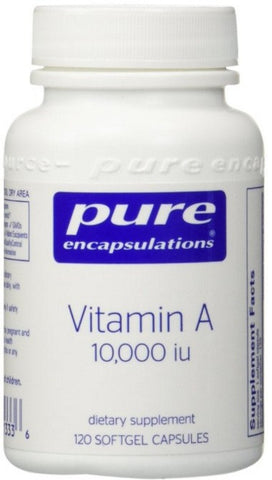 Vitamin A 10,000 IU - 120 Softgel Capsules