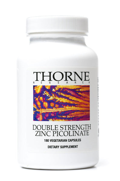 Zinc Picolinate (Double Strength) - 180 Vegetarian Capsules