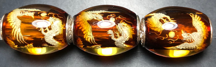 Chronicles Amber Barrel, Dragon and Phoenix, Cherry
