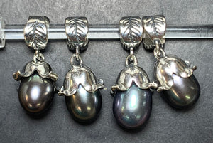 7-2 Palace of Amber - Black Pearl Dangle 2