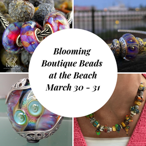 Blooming Boutique Beads at the Beach Saturday Event