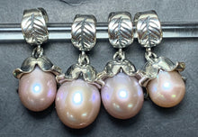 Load image into Gallery viewer, 7-2 Palace of Amber - Pink Pearl Dangle 2