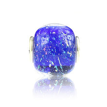 Load image into Gallery viewer, DEEP BLUE WORLD FIREWORKS PETITE at Blooming Boutique Elfbeads