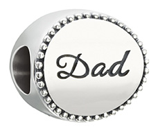 Family Disc Bead - Dad