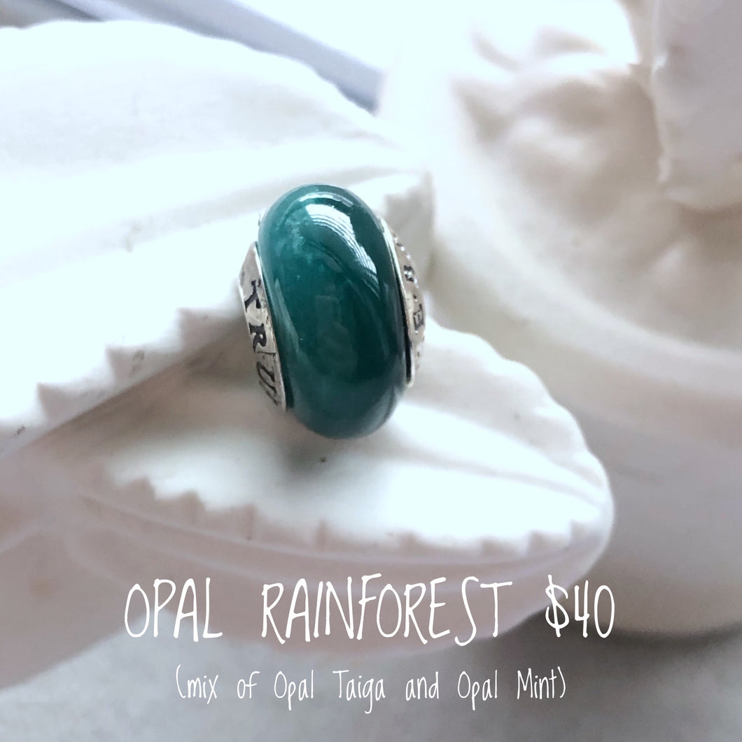 TrueBeadz Opal Rainforest
