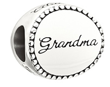 Family Disc Bead - Grandma