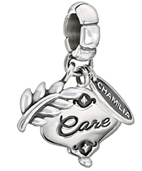 Her Gift of Care Charm