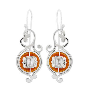 Kameleon Sterling Silver Fanciful Earrings, KE046