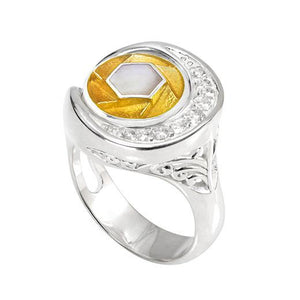 Kameleon Sterling Silver Secret Garden Ring, KR037