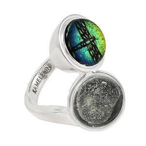 Kameleon Sterling Silver Double Trouble Ring KR045