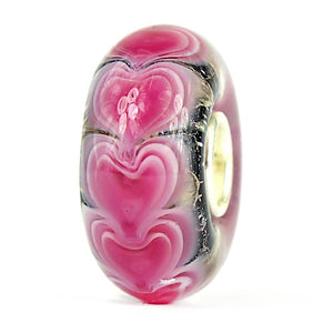 Magnolia Love Layers Glass Elfbead
