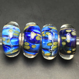 Ocean Dunes Elements Glass Elfbeads