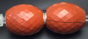 Red Jasper Barrel Fractal Stone 2
