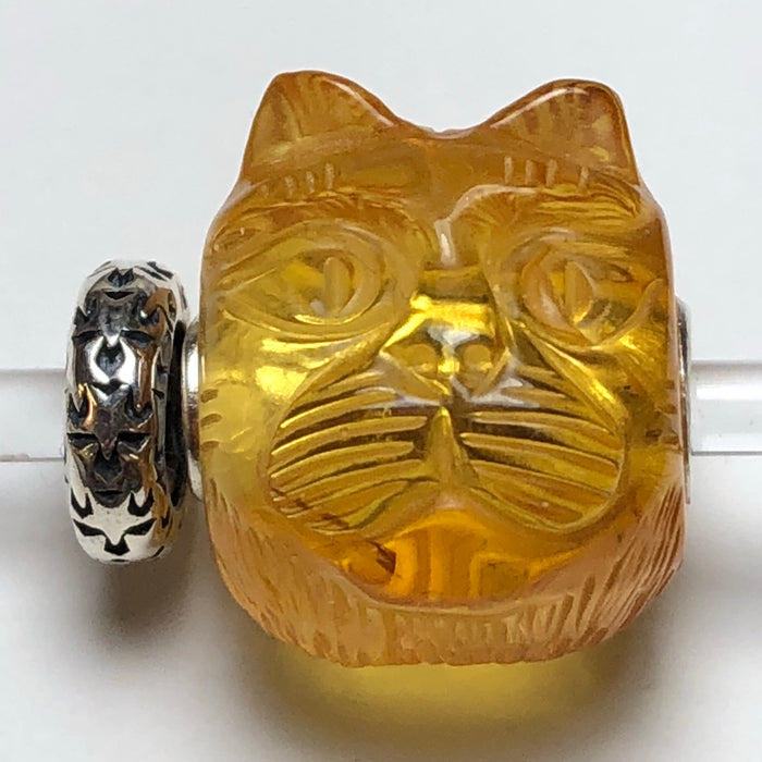 Palace of Amber - Carved Cat Face