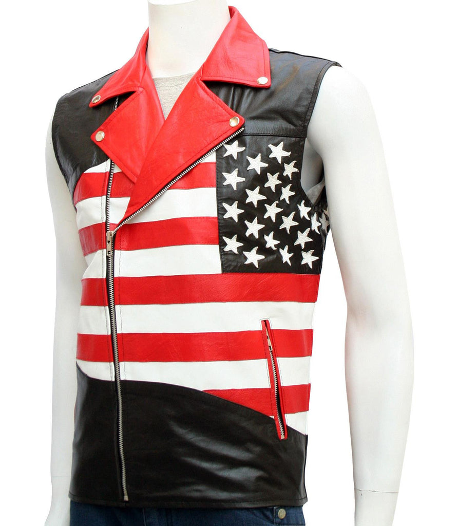 American Flag Vest for Men