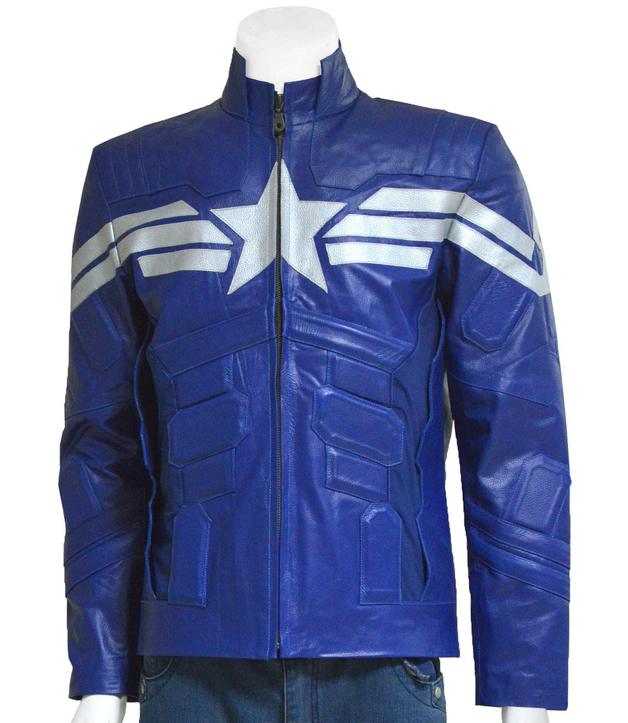 Blue Winter Soldier Jacket