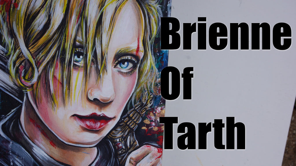 Brienne Of Tarth Game Of Thrones Painting!