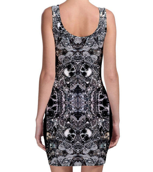 Skeleton Key - Womens Dress - Bodycon