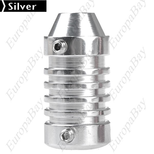 Professional, Universal Stainless Steel Grip for Tattoo, Machine Liner, Shader Gun, Metal Grip, EuropaBay Limited