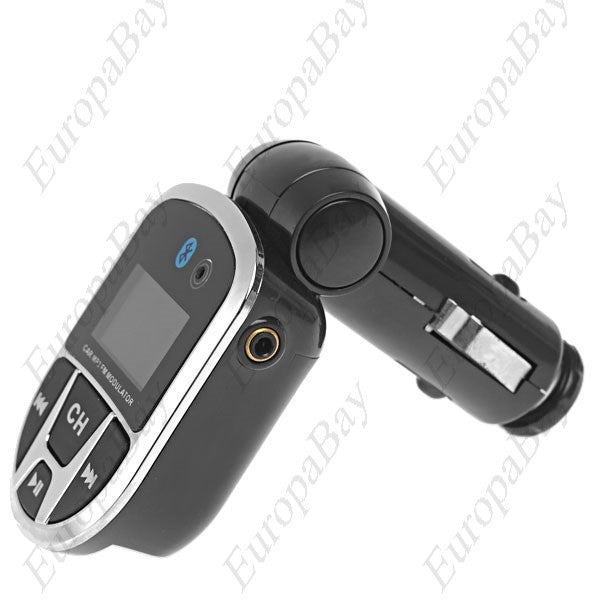 3 in 1 Bluetooth Adapter, MP3 Player, Wireless FM Transmitter with USB, Jack SD Slot, Car FM transmitter, EuropaBay Limited