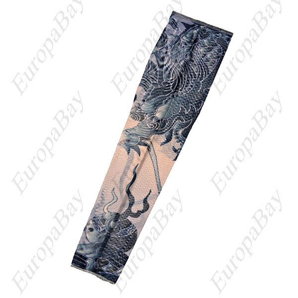 Breathable Body Art Tattoo Sleeve, Cycling Tattoo Sleeve, Tattoo Sleeve, EuropaBay Limited