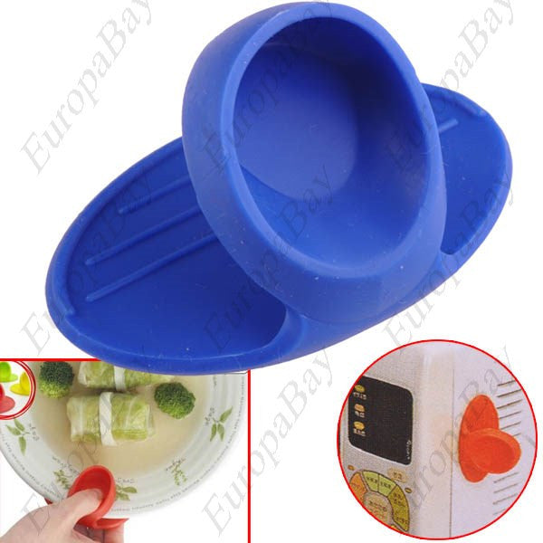 Kitchen Microwave Oven Silicone Heat Insulation Clip, Insulated Gloves + Eligible for Free Worldwide Shipping - EuropaBay - 1
