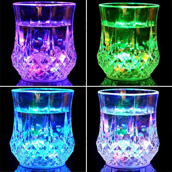Creative Plastic LED Flashing Light Cup for Home, Bar + Eligible for Free Worldwide Shipping - EuropaBay - 1