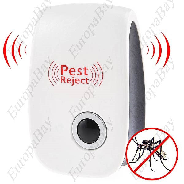 Electronic Ultrasonic Mosquito Repeller, Pest Repeller, EuropaBay Limited