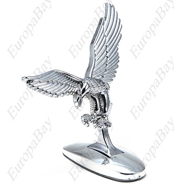 High Quality Vintage Universal 3D Eagle Car Logo Front Cover Bonnet Metal Hood Sticker + Eligible for Free Worldwide Shipping - EuropaBay - 1