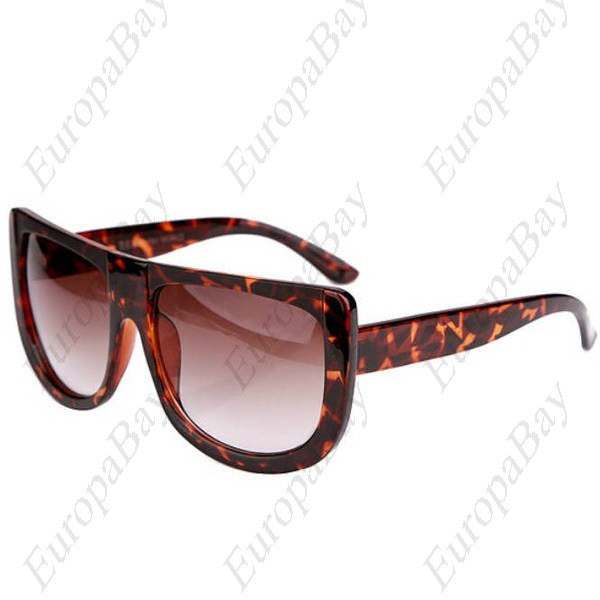 Casual Plastic Patchwork Leopard Print Women's Glasses, Fashion Full Rim Glasses, Sunglasses, EuropaBay Limited