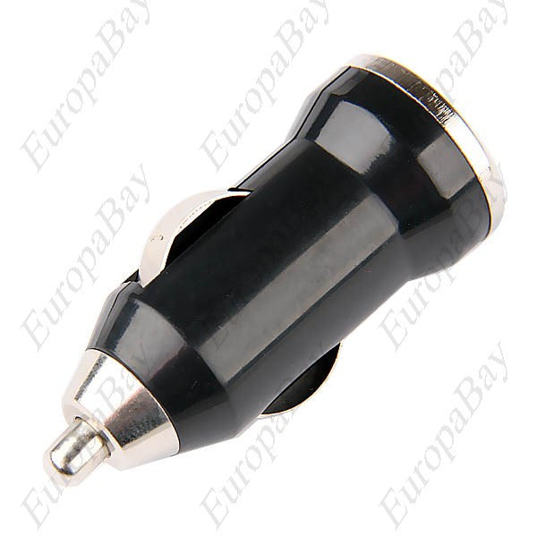 DC 12V 1A Black Mini Car Cigarette Lighter, USB Charger, Car Charger, EuropaBay Limited
