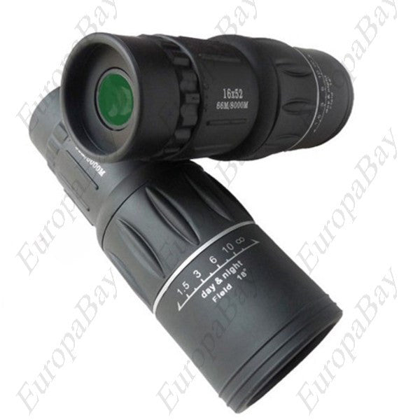 Dual Focus HD Monocular Telescope, Monocular Telescope with Lanyard, EuropaBay Limited