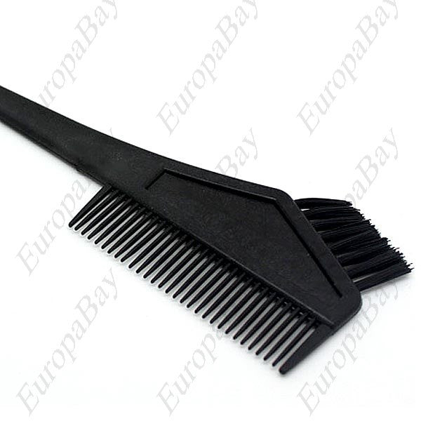 Double-faced Dye Hair Brush & Comb, Hair Modelling Brush, Comb for Hair, Dye Hair Brush Comb, EuropaBay Limited