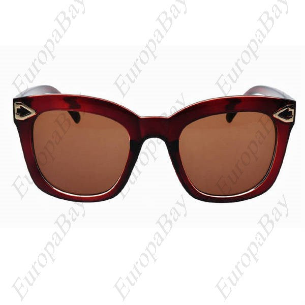 Casual, Plastic, Resin, PC, Full, Rim Glasses Sunglasses (including Glasses Case)  + Eligible for Free Worldwide Shipping - EuropaBay - 1