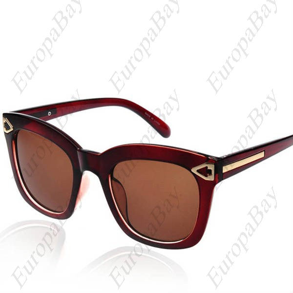 Casual, Plastic, Resin, PC, Full, Rim Glasses Sunglasses (including Glasses Case), Sunglasses, EuropaBay Limited
