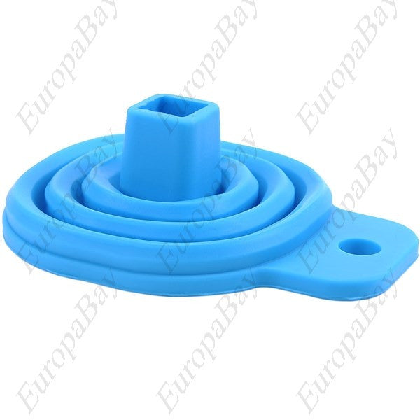 Practical Foldable Silicone Compact Liquid Funnel, Foldable Funnel, EuropaBay Limited