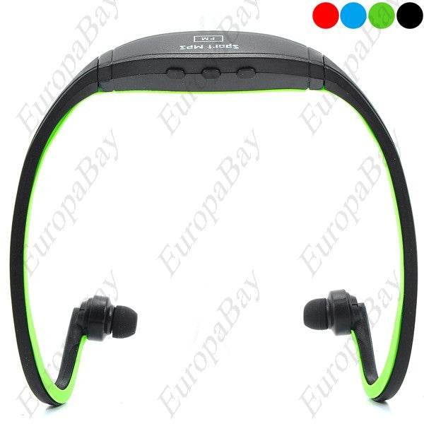 Back Hooking Sport MP3 Player FM Radio with TF Card Slot, MP3 Player, EuropaBay Limited