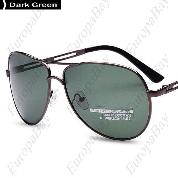 Whole Year Casual Full Rim Resin Driving Polarizer, Metal Hollow, Night Vision, Goggles Sunglasses, Sunglasses, EuropaBay Limited