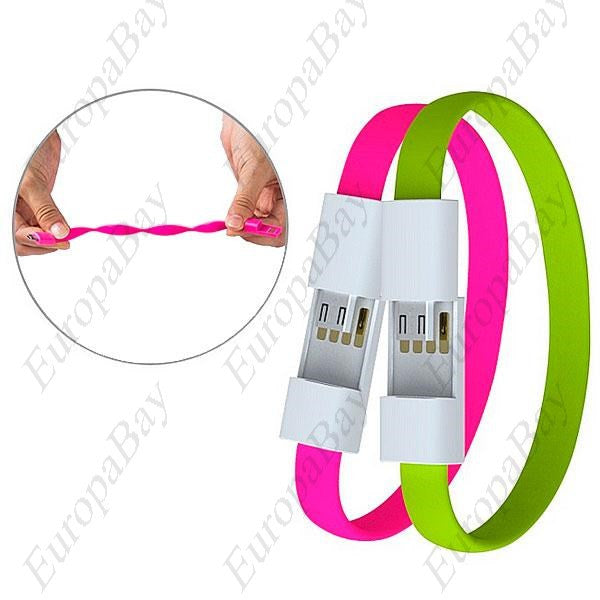 Creative Universal Wristband Cable, Micro USB Charging, Data Bracelet Cable + Eligible For Free Worldwide Shipping - EuropaBay - 5