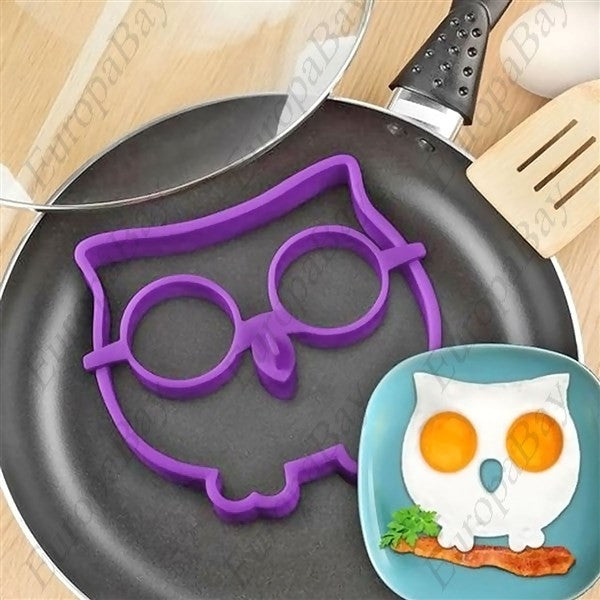 Cartoon Owl Shape Egg Frying Ring Mold, Fried Egg Mold, EuropaBay Limited