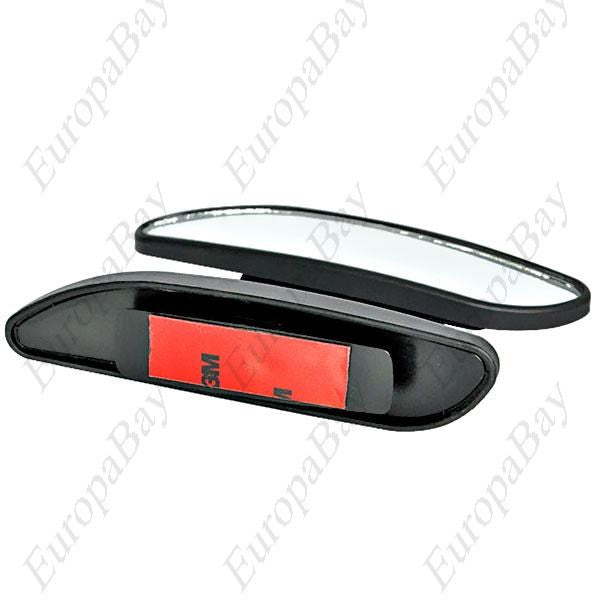 2PCS 3R-060 Adjustable Angle Reversing Rearview Mirror, Small Round Anti-Blind Spot Mirror, Anti-Blind Spot Mirrors, EuropaBay Limited