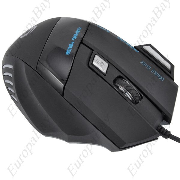 5500 DPI Adjustable 7 Buttons Optical USB Wired Gaming Game Mouse for PC Laptop, Mouse, EuropaBay Limited