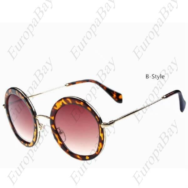 Summer Casual Sunglasses, Women's Glasses,  PC Alloy Glasses, Women's Glasses, EuropaBay Limited