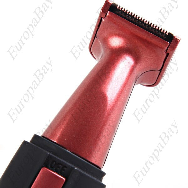 Electronic Washable Nose, Ear, Facial Hair Trimmer, Groomer with Shaver Brush, Cap, Nose Trimmer, EuropaBay Limited