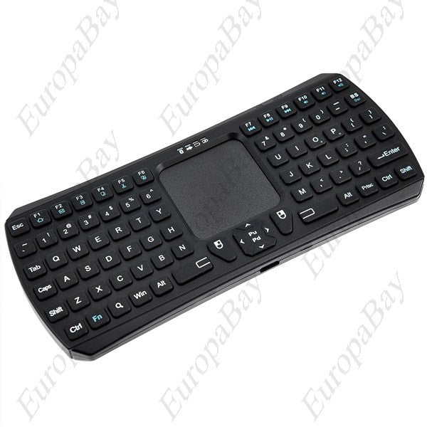 Mini Wireless Bluetooth 3.0 Touchpad Keyboard Fly Air Mouse Remote Control, Keyboard, EuropaBay Limited