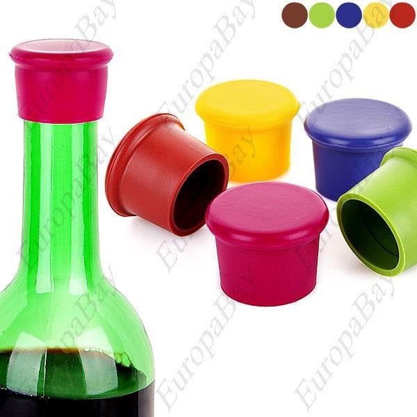 Silicon Wine Bottle Stopper, Bottle Top, EuropaBay Limited
